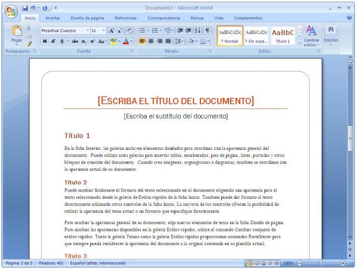 descarga microsoft office word: