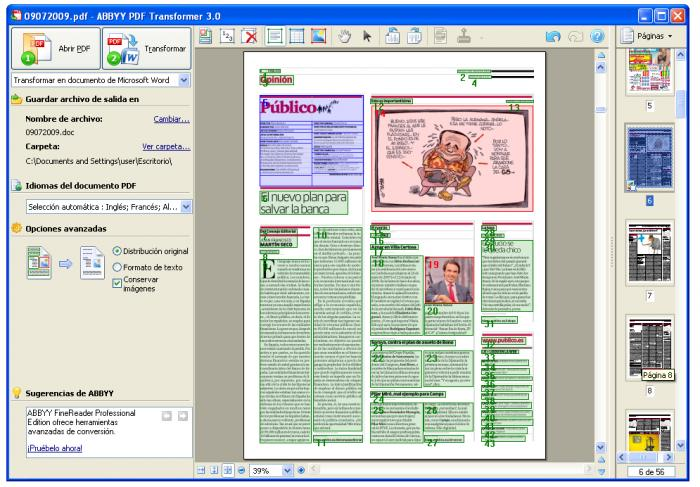 descargar convertidor de pdf a word o excel gratis en