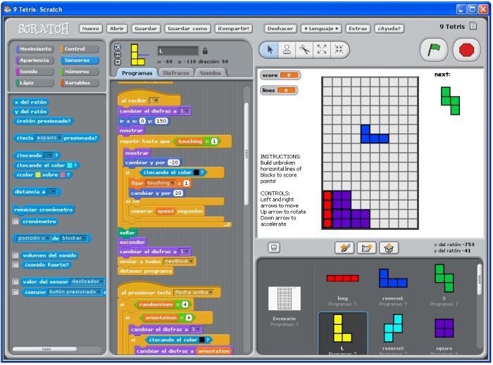 Mit Scratch Para Crear Juegos Y Animaciones