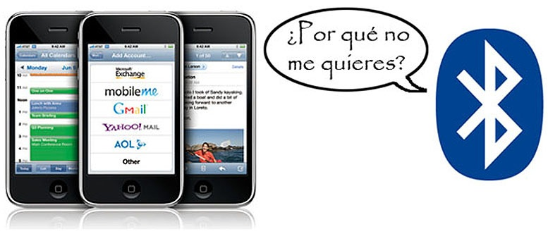 Configurar Bluetooth en el iPhone