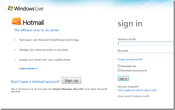 how to make a new hotmail account on iphone
