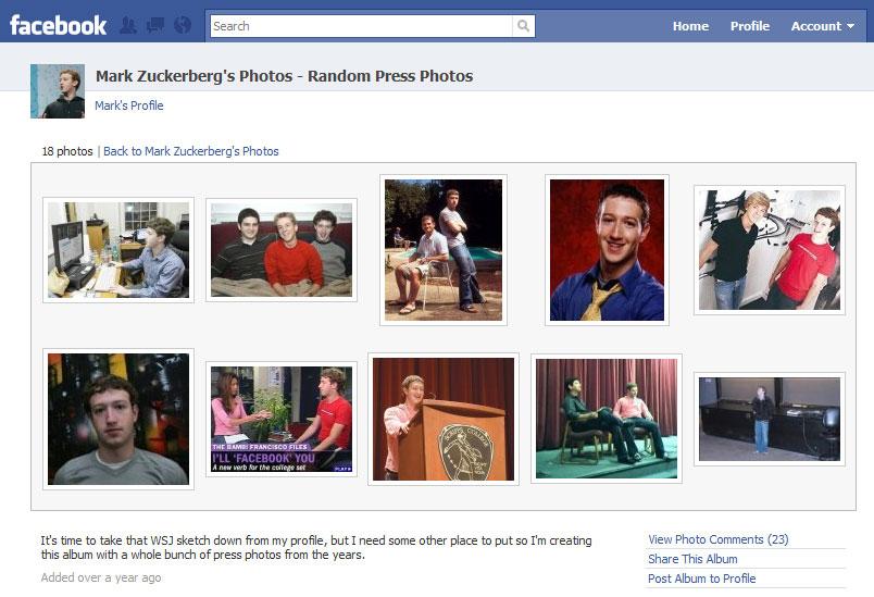 Cámo crear álbumes de fotos en Facebook