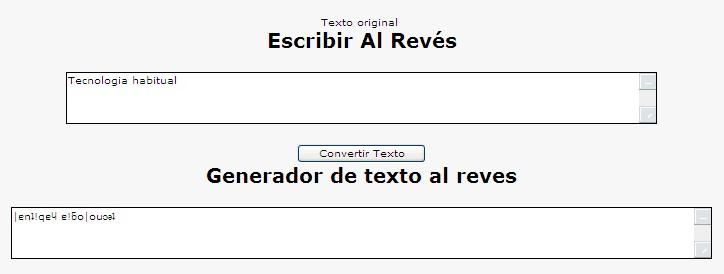 Cómo Escribir Al Revés