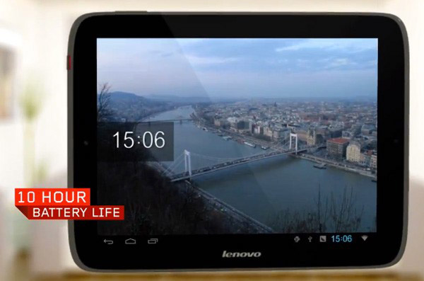 Nuevo tablet de Lenovo con Ice Cream Sandwich