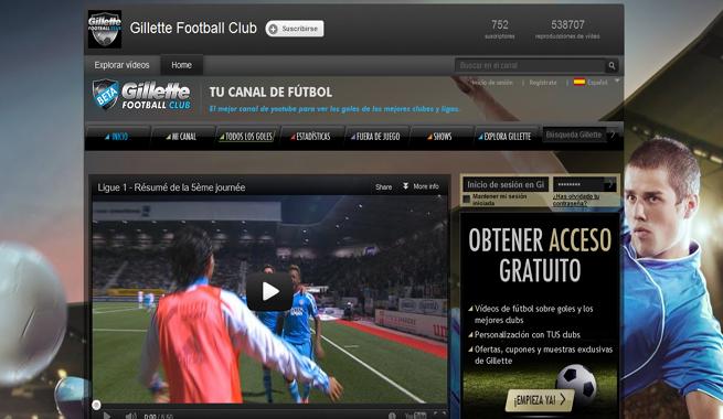 youtube de futbol: