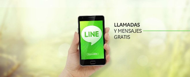 line mensajes llamadas
