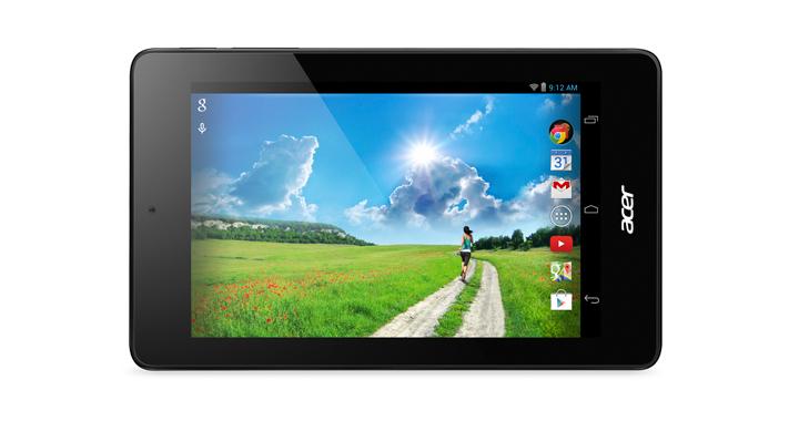 tabletas Acer
