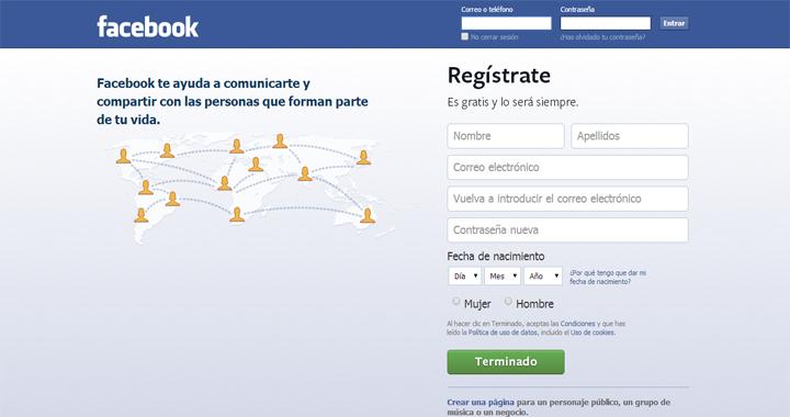 Facebook opciones genero