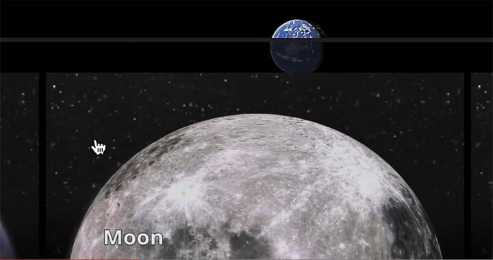 Google Maps Luna Marte