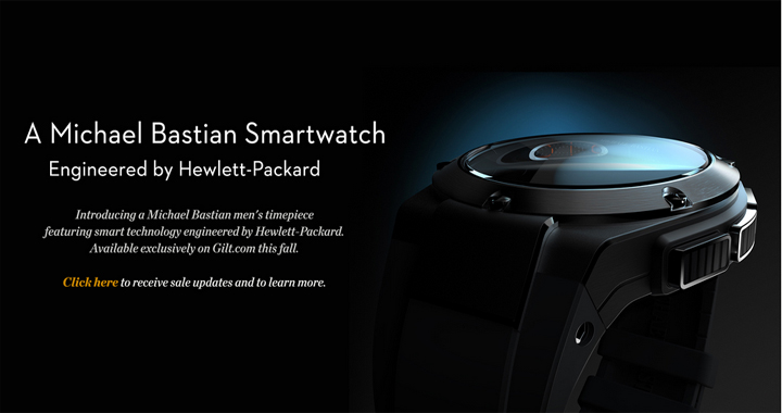 HP smartwatch