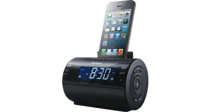 base altavoz iPod iPhone
