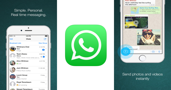WhatsApp check azul