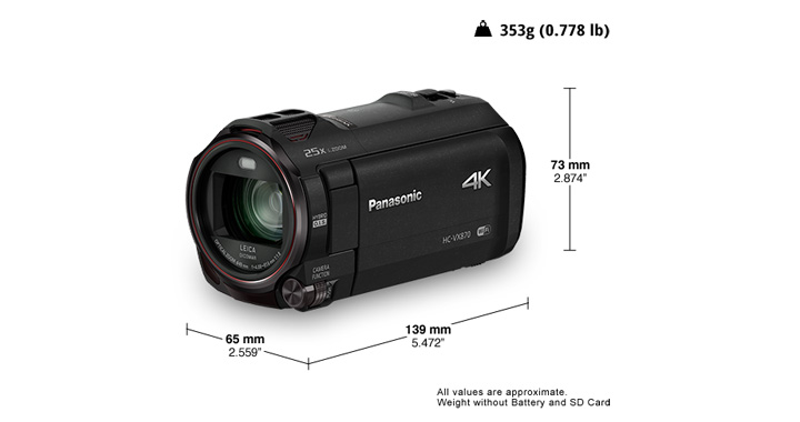 videocamaras HDR