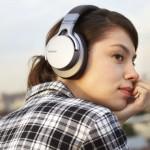 Nuevos auriculares de Sony con cancelación digital de ruido