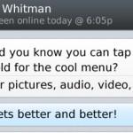 Las llamadas de WhatsApp también llegan a BlackBerry 10