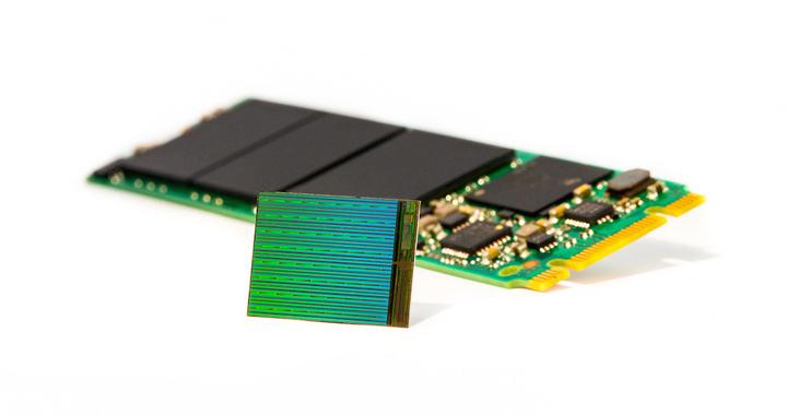 memoria flash NAND 3D