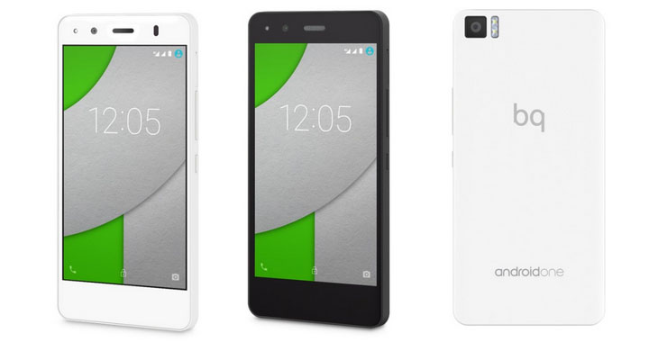 BQ Aquaris A4 5 con Android One
