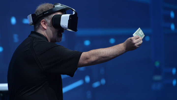 Intel Alloy realidad virtual